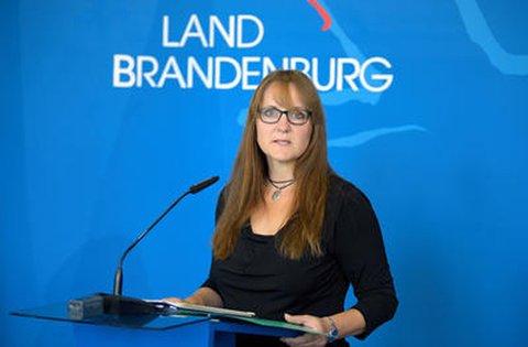Katrin Lange (SPD), Brandenburgs Ministerin der Finanzen und für Europa.