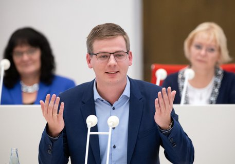 Linke-Fraktionschef Sebastian Walter