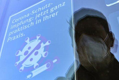 Hinweis auf Corona-Schutzimpfungen in Potsdam.