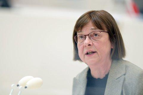 Brandenburgs Gesundheitsministerin Ursula Nonnemacher (Grüne)