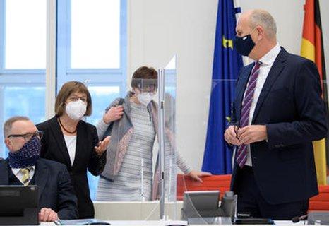 Spitzen des Brandenburger Kabinetts