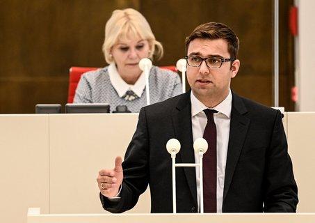 SPD-Fraktionschef im Brandenburger Landtag, Erik Stohn