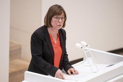 Gesundheitsministerin Ursula Nonnemacher (Grüne)